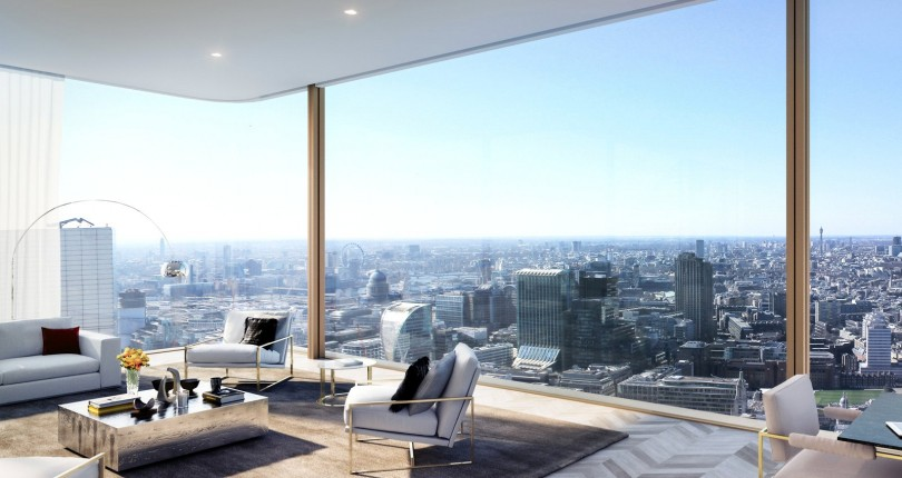 Sunsets and skyscrapers – the value of stunning views in the London property market