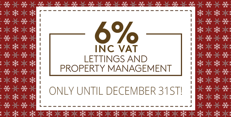 6% inc. VAT Lettings & Property Management Deal