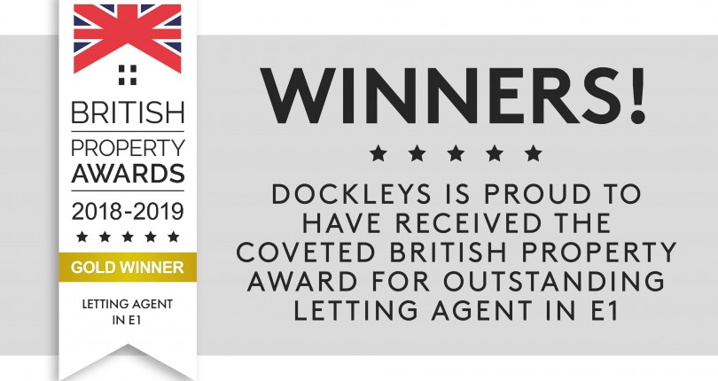 Winners! Dockleys takes gold for Letting Agents in E1