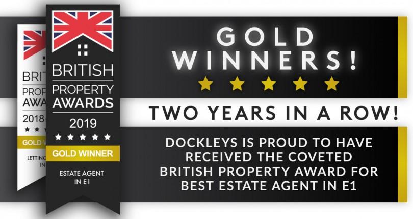 Dockleys – British Property Award winner for the second year running!